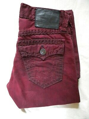 eccfd01e8 Mens True Religion Jeans Coated. Ricky Relaxed Straight