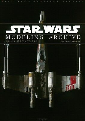 STAR WARS MODELING ARCHIVE Japanese Book Plastic Model Figure BANDAI