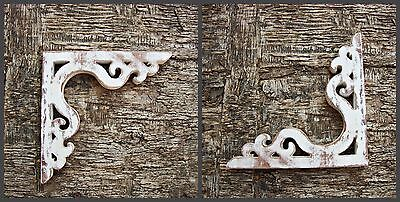 Wood Corbel Shabby Chic Farmhouse Decor  Screen Door Bracket 1xPair
