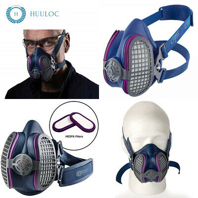 gvs elipse spr457 p100 medium/large half mask respirator