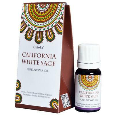 Goloka California White Sage Fragrance Oil 10ml