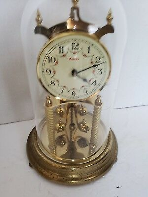 Vintage Kundo Anniversary Clock W. Germany For Parts Repair Keninger Obergfell