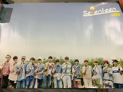 SEVENTEEN Love & Letter Repackage OFFICIAL FOLDED POSTER KPOP