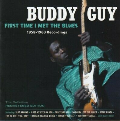 Buddy Guy - First time I met the blues (CD)