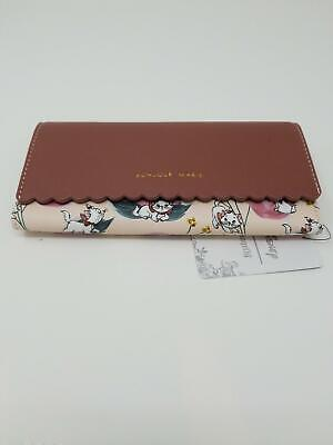 Loungefly Disney The Aristocats Bonjour Marie Floral Trifold Wallet New w/ Tags