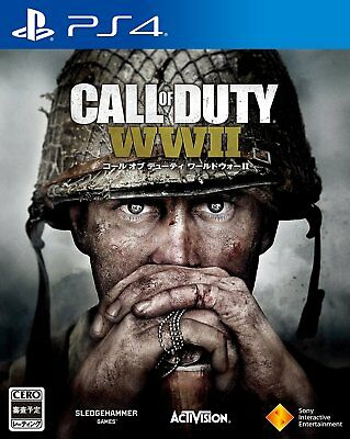 NEW PS4 Call of Duty World War II 2 JAPAN Sony PlayStation 4 WWII import game