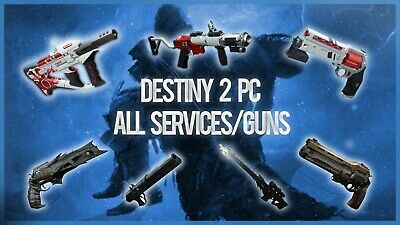 Destiny PC SERVICES - GUARANTEED & FAST - Luna/Recluse/Exotic Quests (Read Desc)
