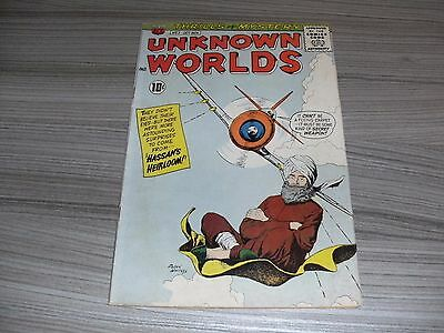 Unknown Worlds #3. Fine (6.0). American Comics Group. Acg. October 1960.
