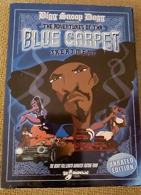 Bigg Snoop Dogg The Adventures Of The Blue CARPET  Treatment