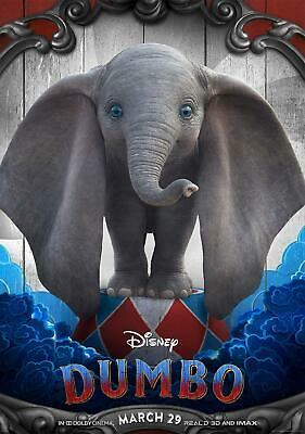 Disneys Dumbo New 2019 Movie Release Colour Poster A3, A2, A1, A0, A6 sizes