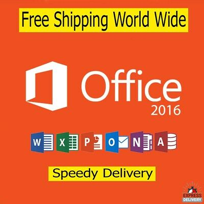 Microsoft Office 2016 Professional Plus Product License Key Instant Delivery