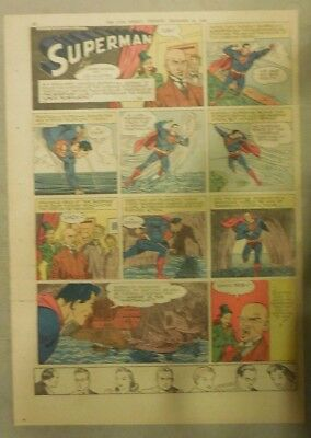 Superman Sunday Page #369 by Siegel & Shuster from 11/24/1946 Tab Page:Year #7!