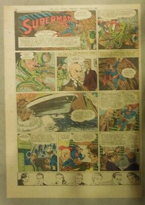 Superman Sunday Page #370 by Siegel & Shuster from 12/1/1946 Tab Page:Year #7!