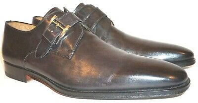 e10995a8d7c Magnanni  Marco  Leather Monk Strap Loafer Catalux Grey Size 11 M 13276  Painted