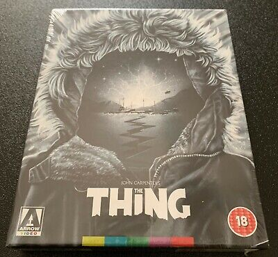 The Thing Blu-Ray Arrow Video Limited Edition Slip Box Uk Import New Oop Rare!