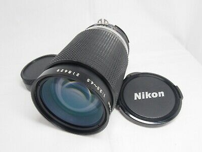 Nikon Ai-s Zoom-NIKKOR 35-135mm F/3.5-4.5 MF Lens F/S From Japan *AS IS #0118