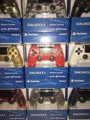 Factory New (official) Sony PlayStation 4 PS4 DualShock 4 Wireless Controller