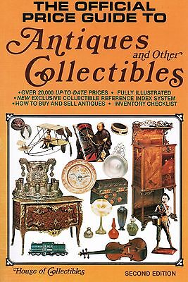 The Official Price Guide to Antiques and Other Collectibles Second Edition 1980