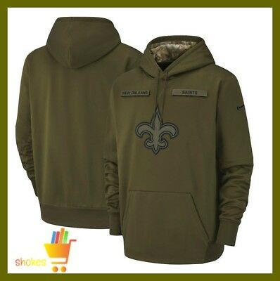first rate f644a a0196 🔥NEW MEN'S NEW Orleans Saints Olive Salute to Service ...