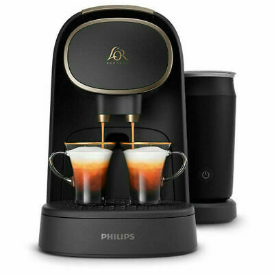 L'or Philips Barista Premium Capsule Coffee Machine with Milk Frother LM8018/90