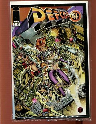 DEFCON 4 # 1 TWO ISSUE LOT(9.4-9.8)(NM TO NM/MT)IMAGE(b004)