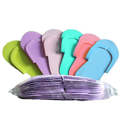 cd05ae9d74e 36 Pair Disposable Pedicure Slippers Soft Foam Flip Flops- SEWING Style