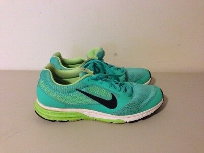 Nike Air Zoom Fly 2 Women's Running Shoes Sz US 9 Green 707607 303 Very Nice! | eBay