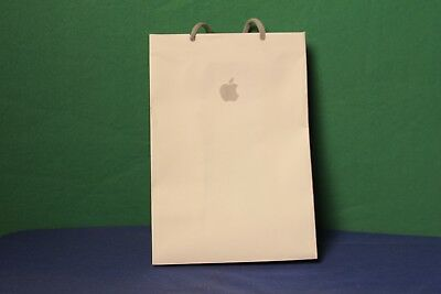 Authentic APPLE Store Signature Logo Paper Shopping Tote Bag Gift Bag