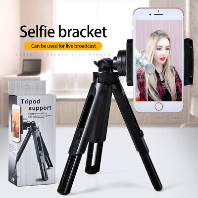 New Phone Mobile Holder Mini Tripod Universal Adjustable 360 Angle Stand DB