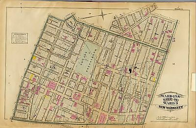 1879 NEW YORK CITY ATLAS maps GENEALOGY history LAND OWNER  DVD T3