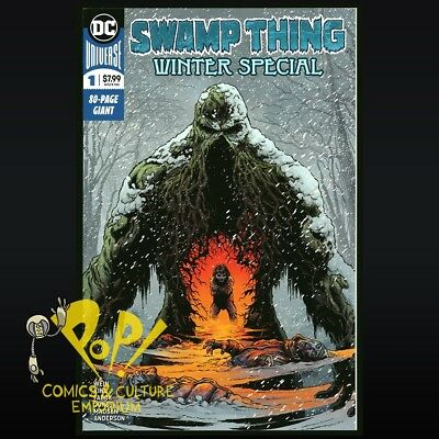 Swamp Thing Winter Special #1 DC Comics NM S282