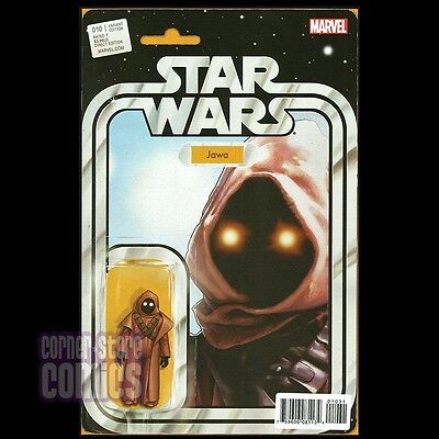 STAR WARS #10 Action Figure Variant JAWA Sold Out RARE Christopher MARVEL NM!