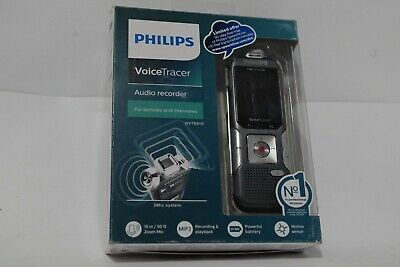 Philips DVT6010 Speech Voice Tracer with 3 Mic Auto Zoom Recording