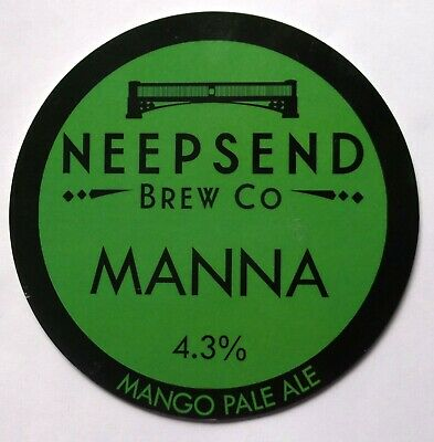 Beer Pump Clip Badge Manna Neepsend Brew Co Sheffield BP346