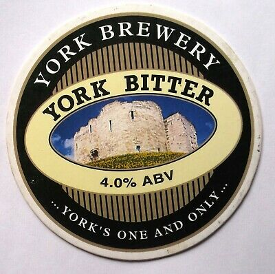 Beer Pump Clip Badge York Bitter York Brewery BP293