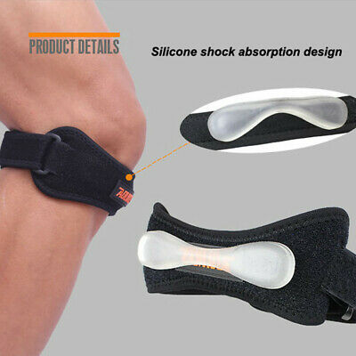 Adjustable Sport Knee Wrap Protector Patella Tendon Support Brace Strap Band