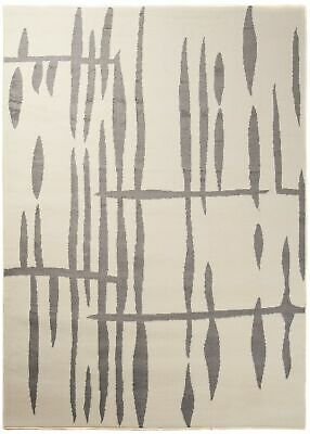 Modern Cream Rug for Living Room Short Pile Contemporary Carpet Small XL Large