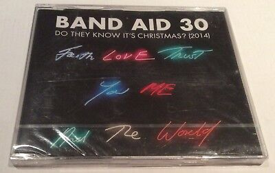 Band Aid 30 - Do They Know It's Christmas – New & Sealed Cd Single 2014
