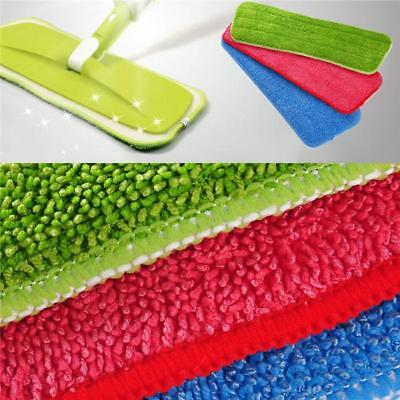 Replacement Microfiber Spray Water Spraying Flat Dust Floor Mop Head Cleaning XS
