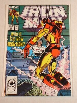 Ironman #231 Vol1 Marvel Armour Wars Intro New Ironman June 1988