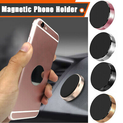 In Car Magnetic Phone Holder Fits Dashboard Universal Mount Various Colours XU