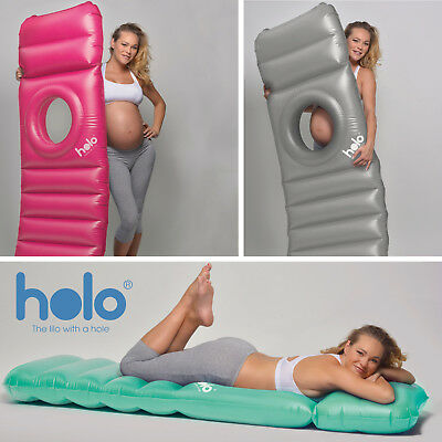 Holo - The Lilo With a Hole - Lie on your tummy in Pregnancy - Pregnancy Pillow