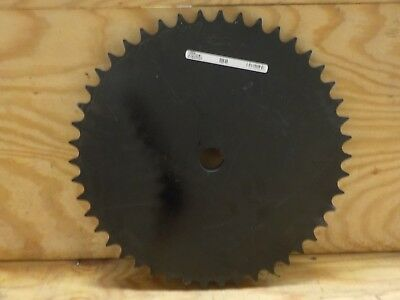 Martin Roller Chain Sprocket, Reboreable, Type A Hub, Single Strand, 80 Chain Si