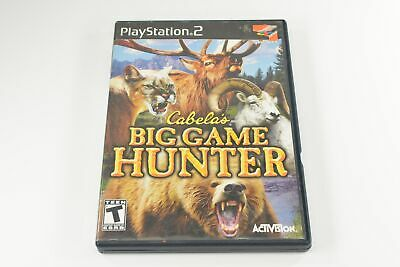 Cabelas Big Game Hunter (Sony Playstation 2 Game Tested and Working) 5949
