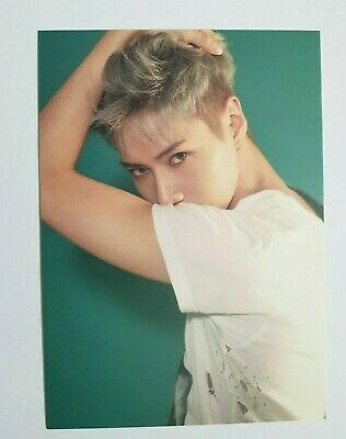 """K-POP SHINEE Taemin Limited Postcard - Official SM TOWN Goods / 2nd """"MOVE"""" Ver"""