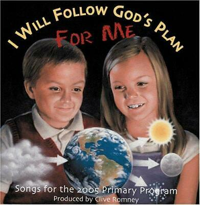 I Will Follow God's Plan for Me: Sharing Time Activities