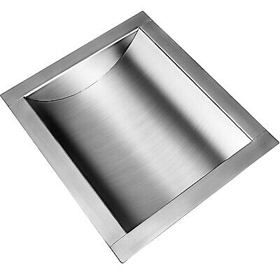 "Cash Window Drop-In Deal Tray 12"" x 10"" Business Banks 304 Stainless Steel"