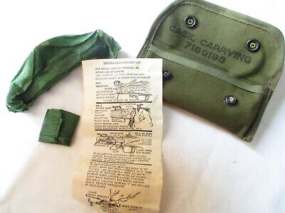 Ww Ii Complete M15 Grenade Launching Sight For 1903 & M-1  With Pouch Nos