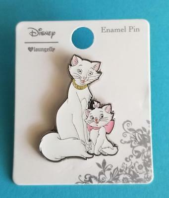 Loungefly Disney The Aristocats Marie and Mom Duchess Cuddle & Pose Cats Pin