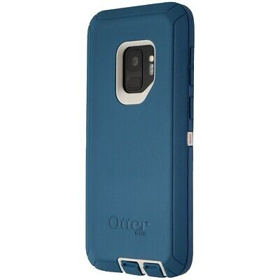 INCOMPLETE OtterBox Defender Series Case for Galaxy S9 - Blue White (Big Sur)
